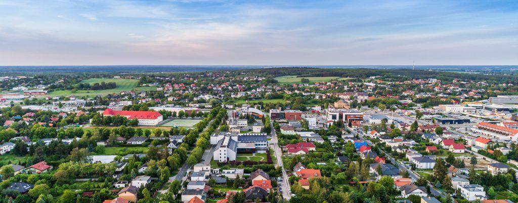 DRON - zdjęcia z drona - Suchy Las - Impatientstudio.pl-
