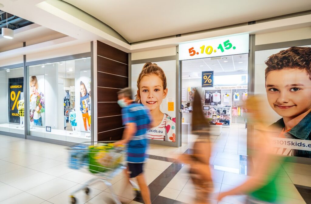 Sesja zdjęciowa centrum handlowego - Galeria Marjon - Impatientstudio.pl