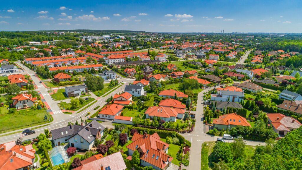 Zdjęcia z drona dla miast gmin i regionów - Impatientstudio.pl